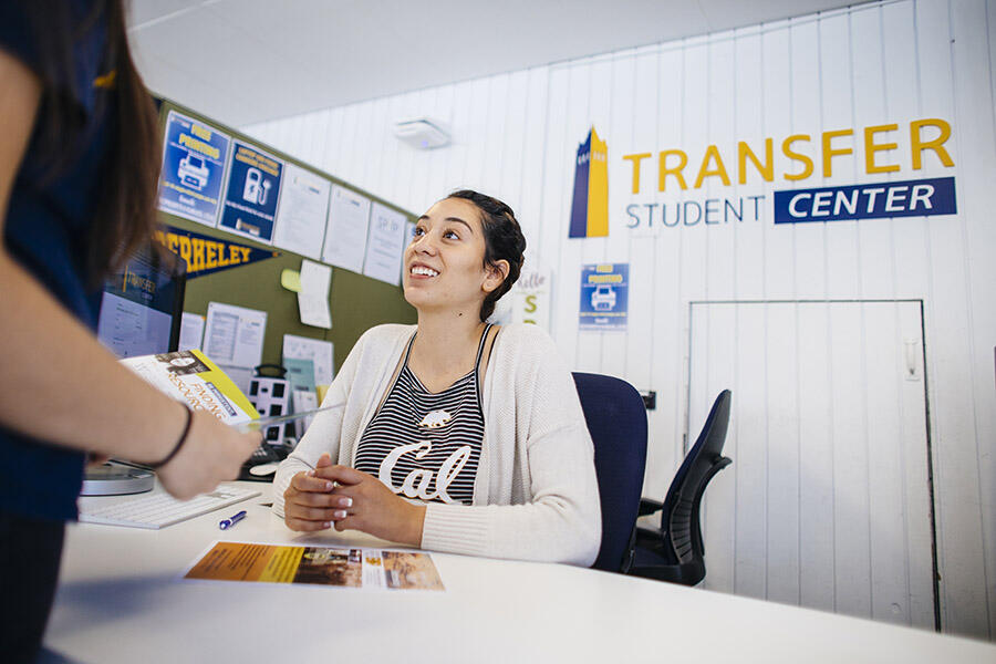 Student Transfer Center Admissions Day